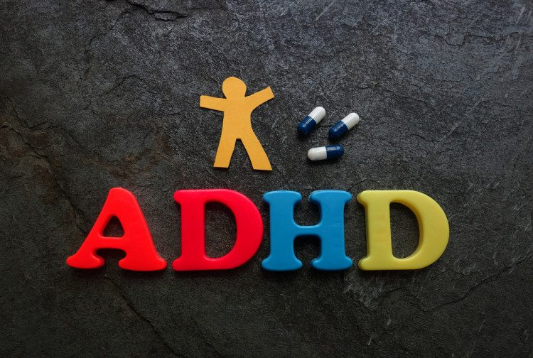 ADHD attention deficit hyperactivity disorder text