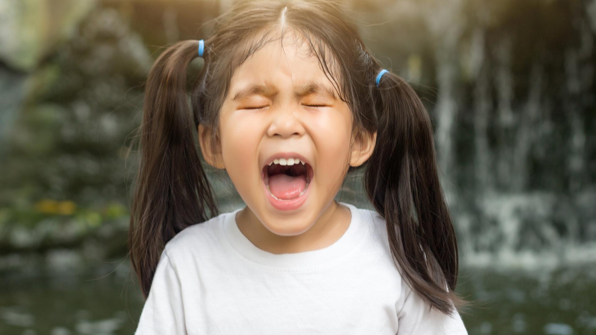 behavioural problem in children throwing tantrum