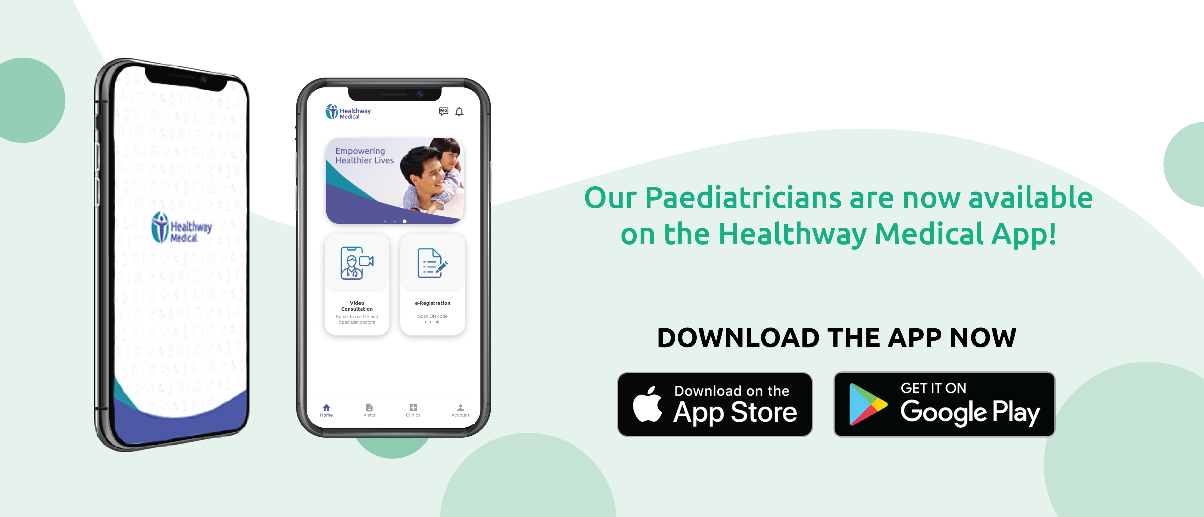banner image for consult paediatrician online using the healthway medical app