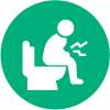 icon for constipation for chronic illnes to be treated by consult paediatrician online